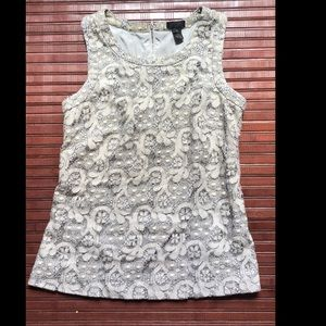 J. Crew Collection Size 0 Lace Tank